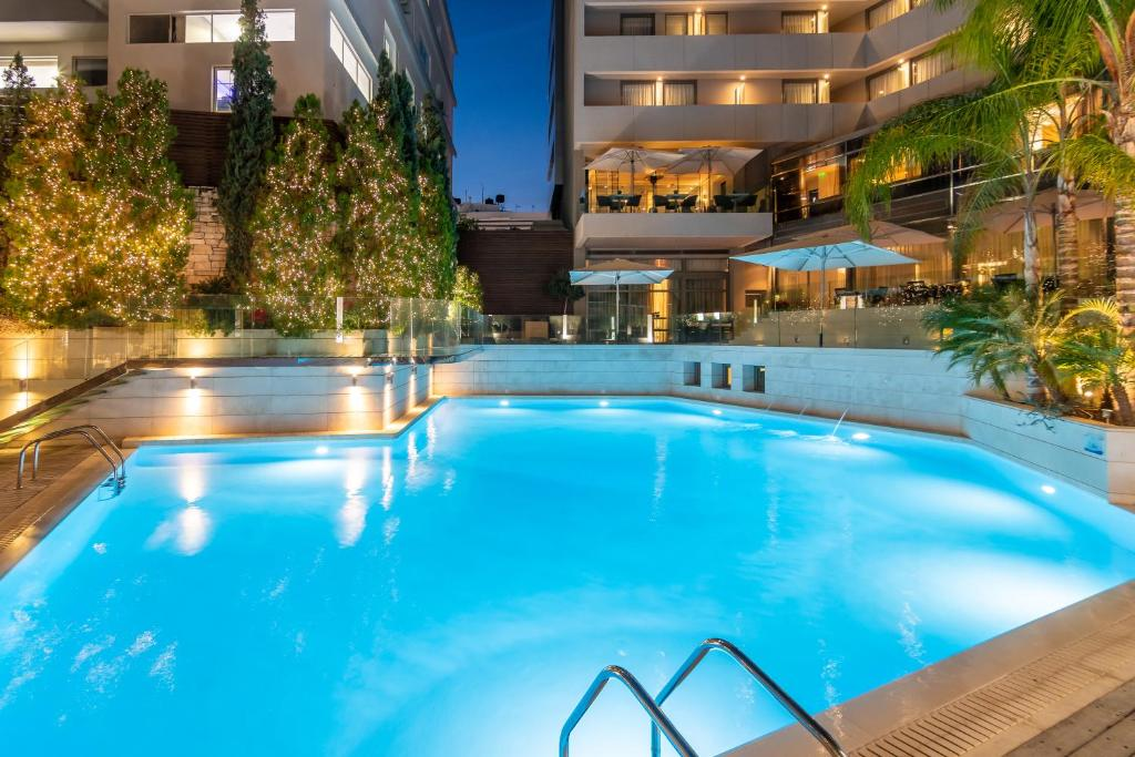 The swimming pool at or close to Galaxy Iraklio Hotel
