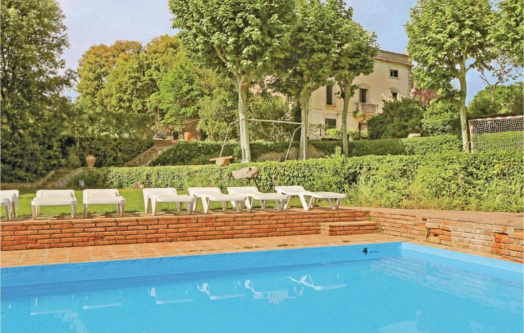 The swimming pool at or near Thirteen-Bedroom Holiday Home in Vilanova del Valles