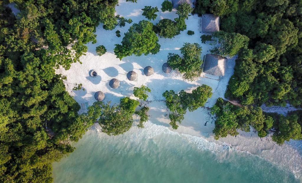 A bird's-eye view of Pearl Beach Resort & Spa Zanzibar