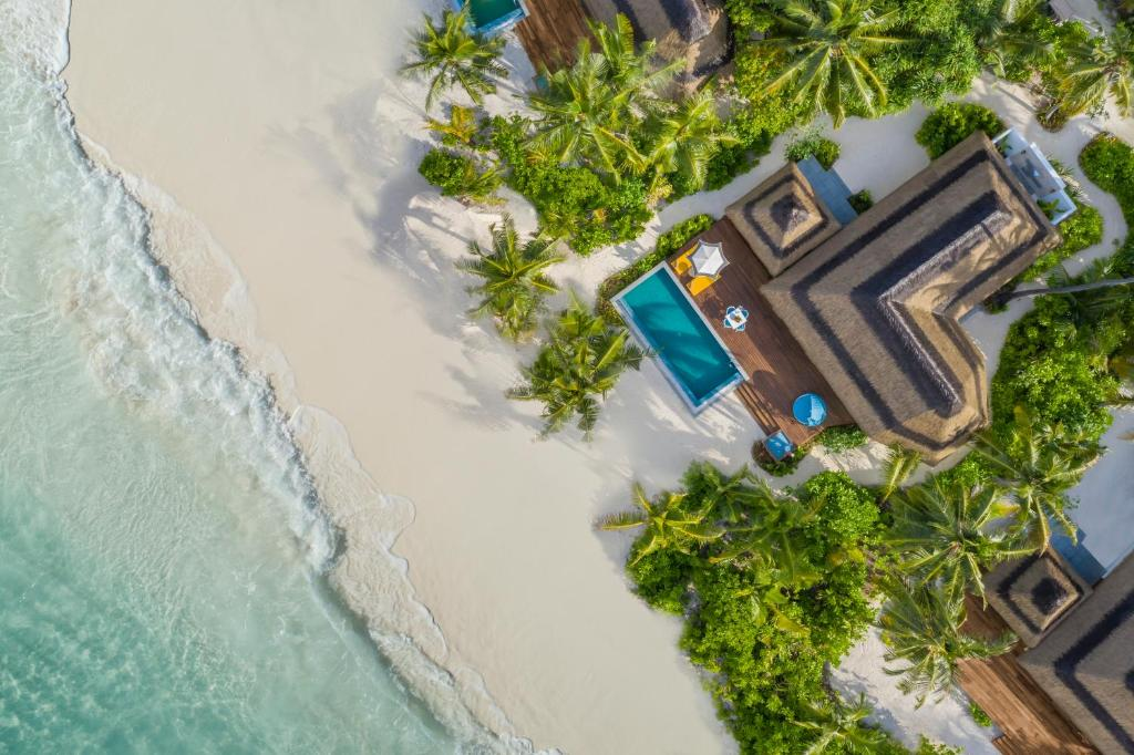 A bird's-eye view of Pullman Maldives All-Inclusive Resort