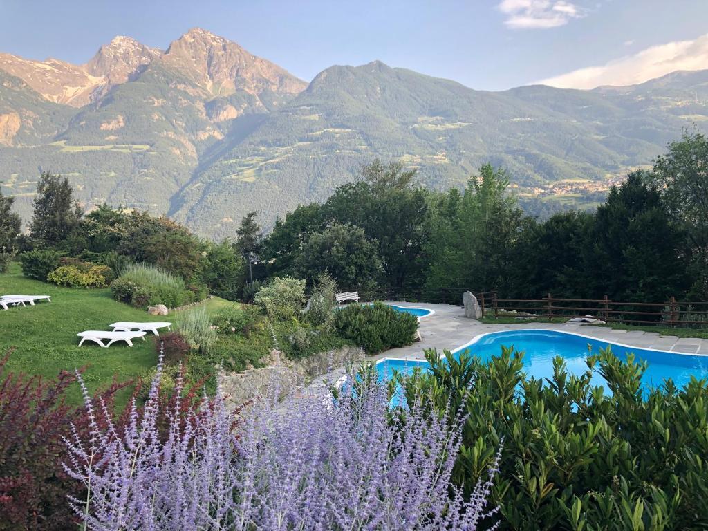 Der Swimmingpool an oder in der Nähe von Hotel Milleluci