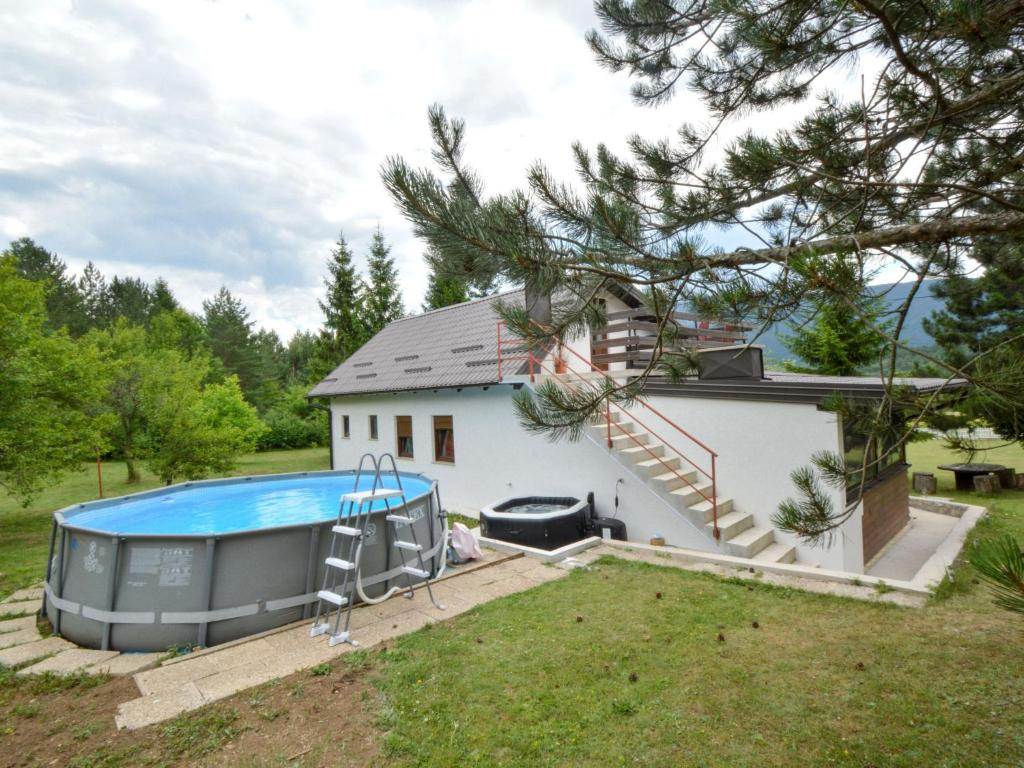 A view of the pool at Holiday Home Patrik or nearby