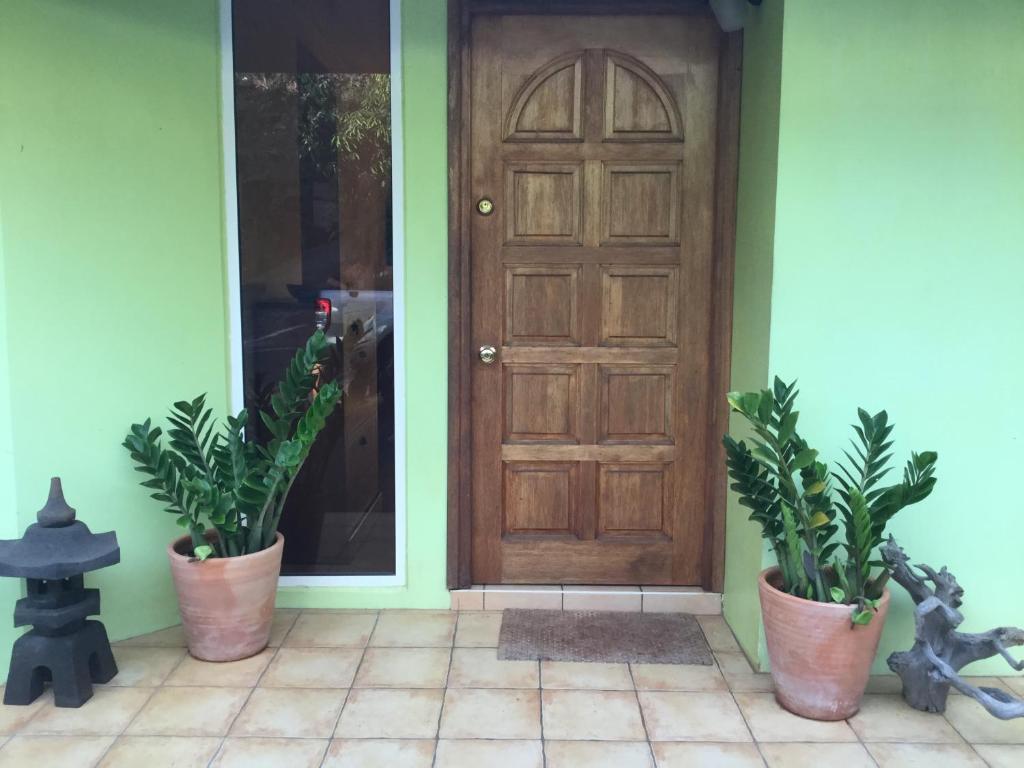 A fachada ou entrada em Maison TEREVA