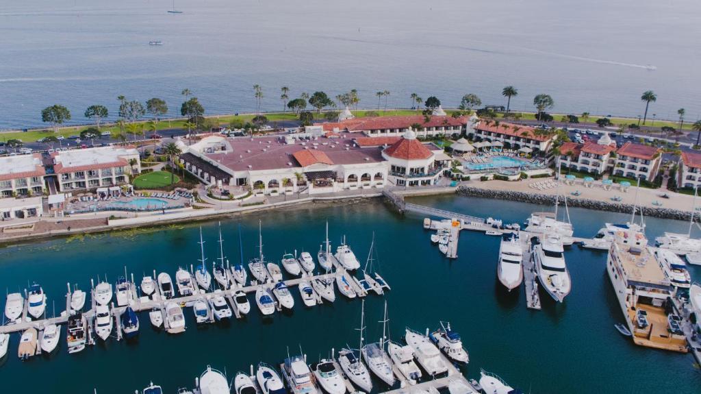 A bird's-eye view of Kona Kai Resort & Spa, a Noble House Resort
