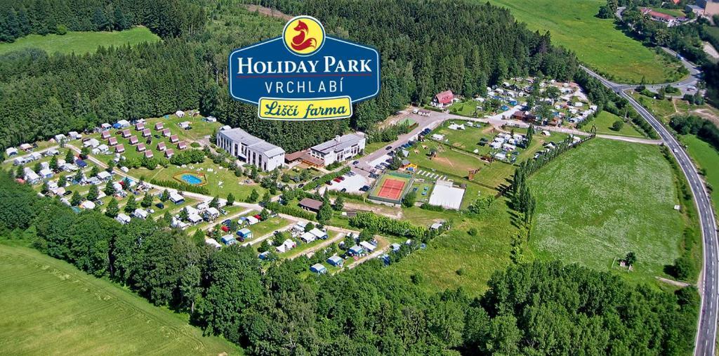 A bird's-eye view of Holiday Park Vrchlabí - Liščí farma