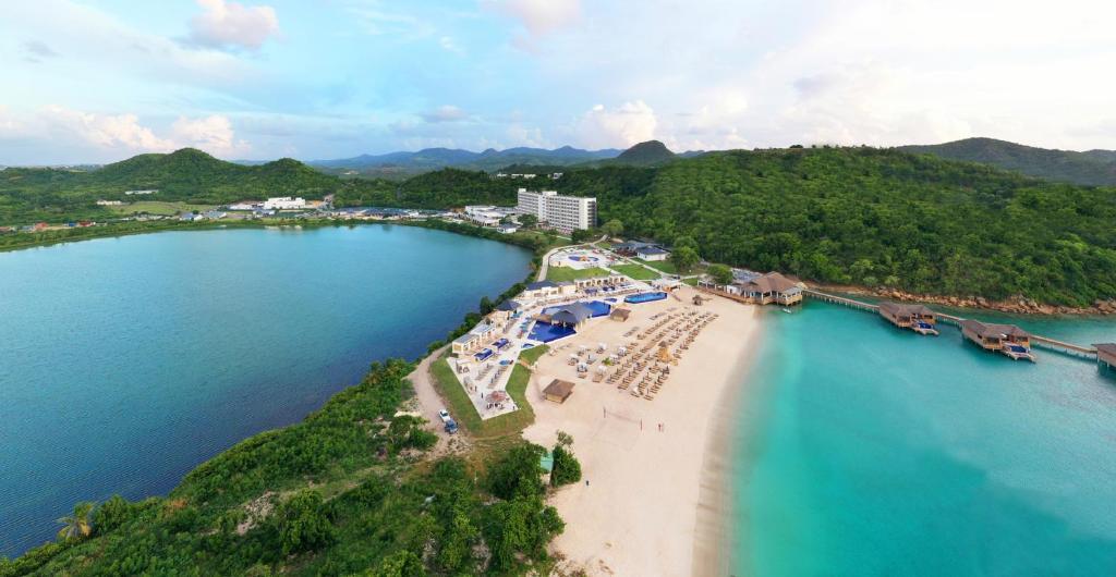 A bird's-eye view of Royalton Antigua Resort & Spa - All Inclusive