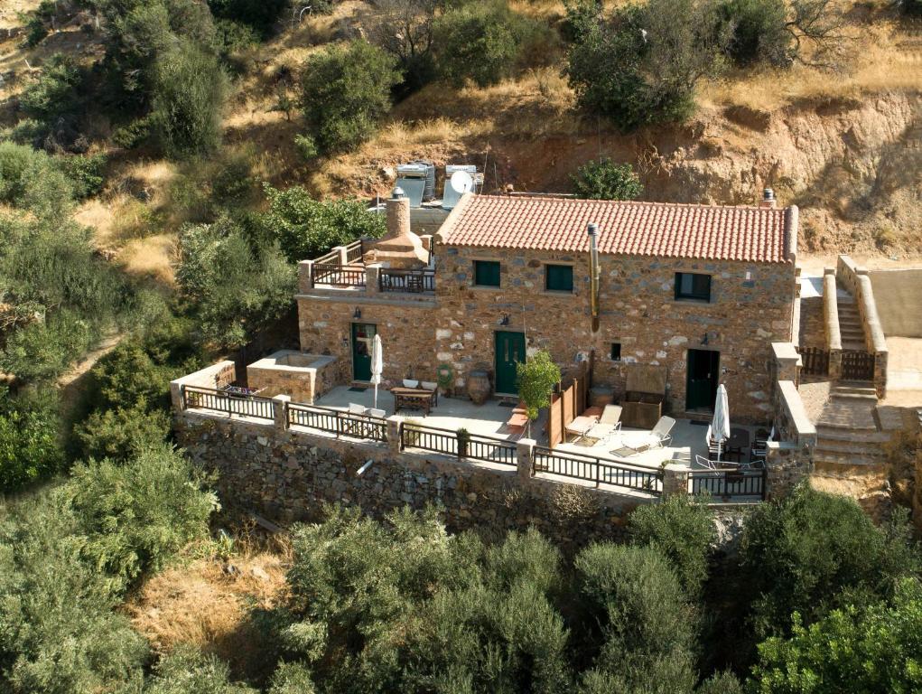 Vista aerea di Hello Village