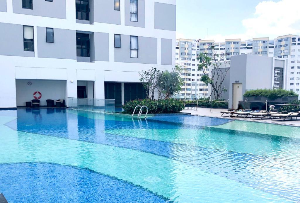The swimming pool at or close to Trip Apartment Saigon