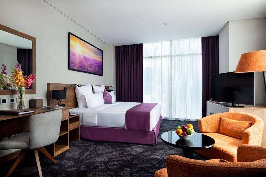 A room at the Park Regis Business Bay.