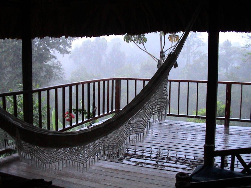 Un balcón o terraza de La Ceiba Reserva Natural