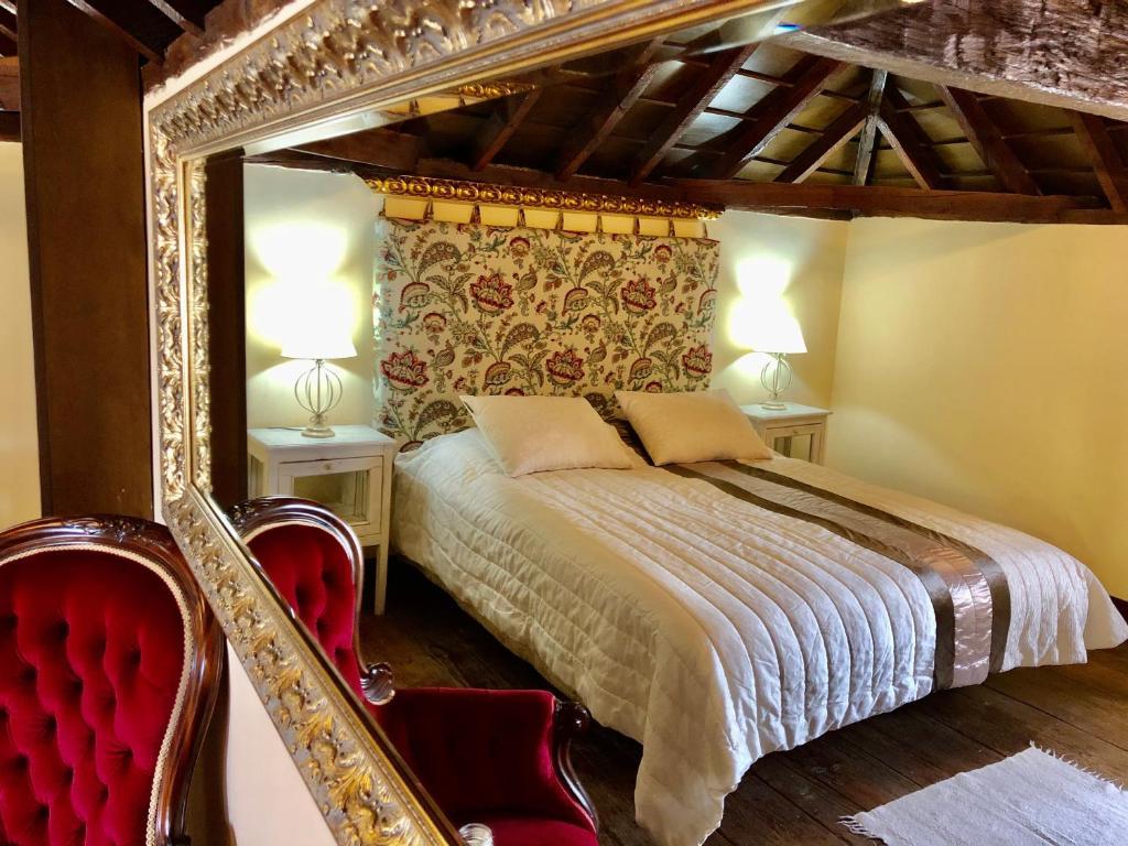 Letto o letti in una camera di Hotel Rural Vilaflor