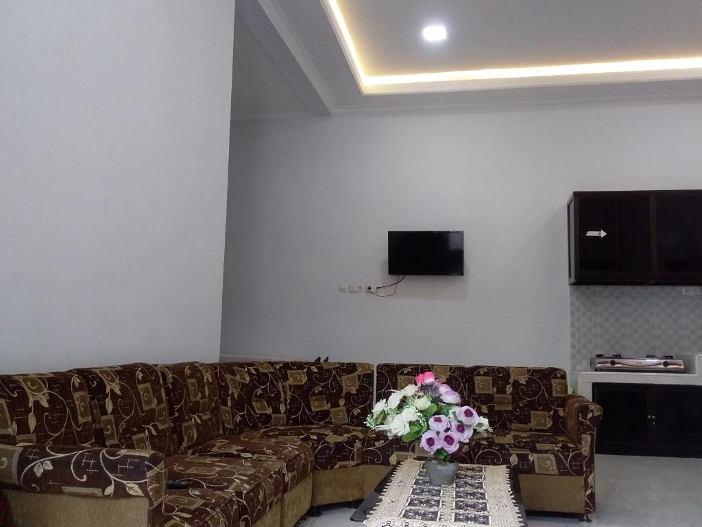 A seating area at Citra Homestay