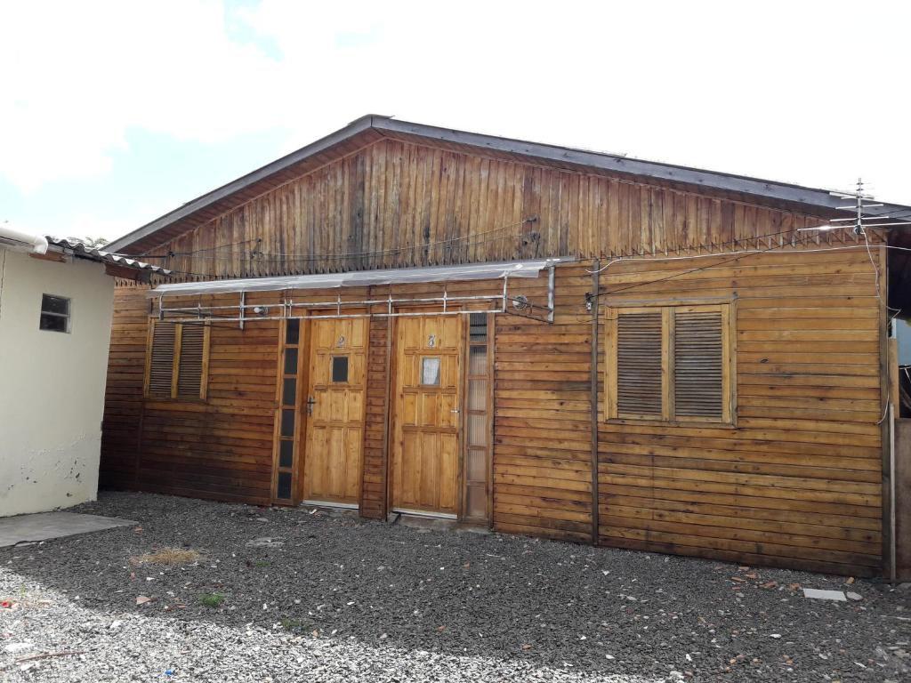The building in which the chalet is located