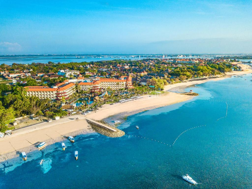 A bird's-eye view of Grand Mirage Resort & Thalasso Bali