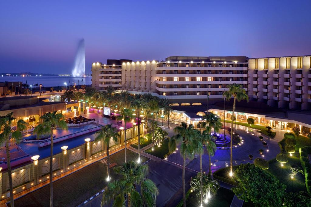Uma vista aérea de InterContinental Jeddah, an IHG Hotel
