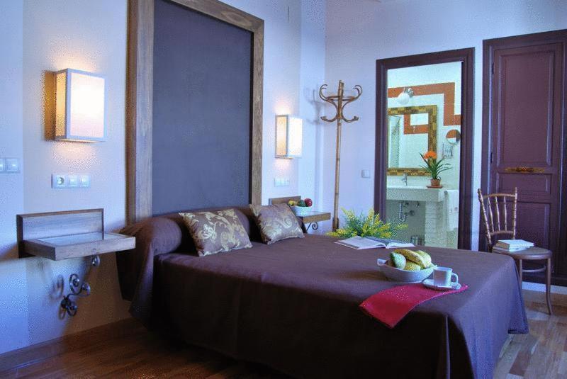 Cama o camas de una habitación en Hotel Rural Casa Grande Almagro
