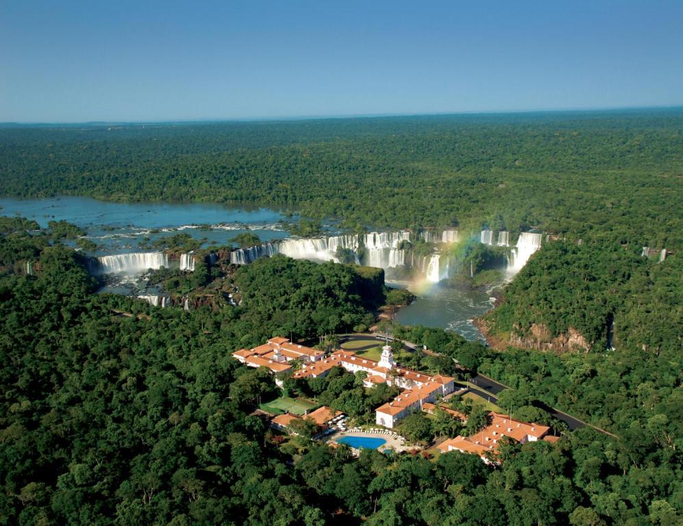 Majoituspaikan Hotel das Cataratas, A Belmond Hotel, Iguassu Falls kuva ylhäältä päin