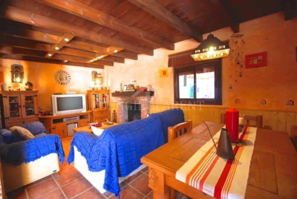 A seating area at Casa de Campo Relax