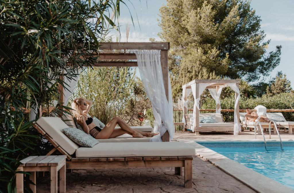 The swimming pool at or near Can Vistabella Boutique Resort
