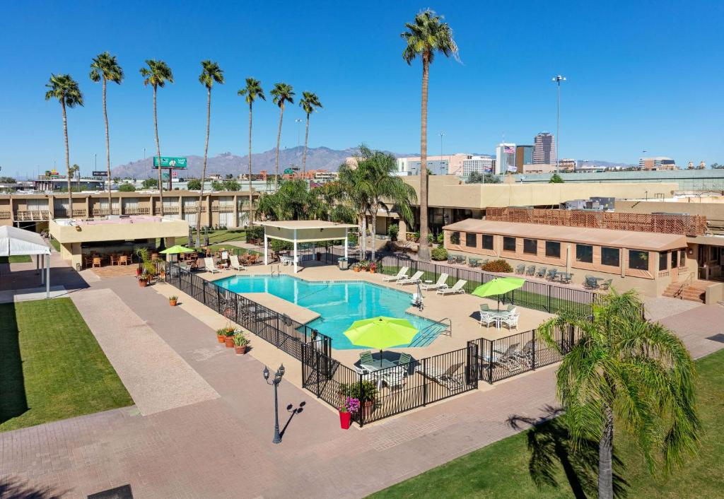 A view of the pool at Ramada by Wyndham Tucson or nearby