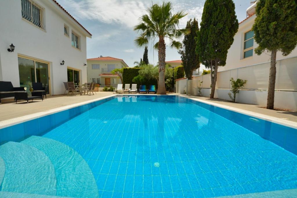 The swimming pool at or near Crystal Sea Villa