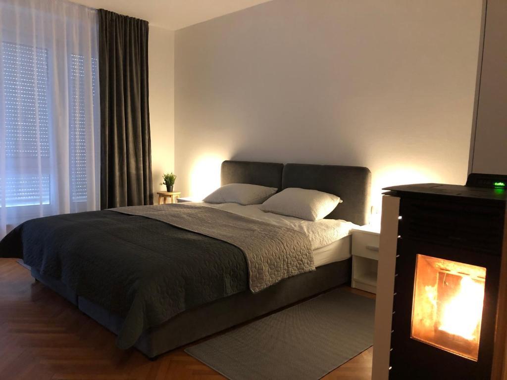 Krevet ili kreveti u jedinici u objektu Apartman Lana