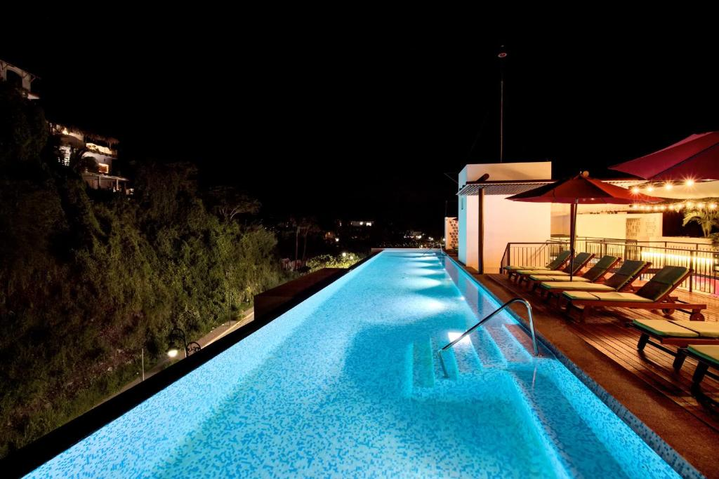 The swimming pool at or near Puerto Sayulita