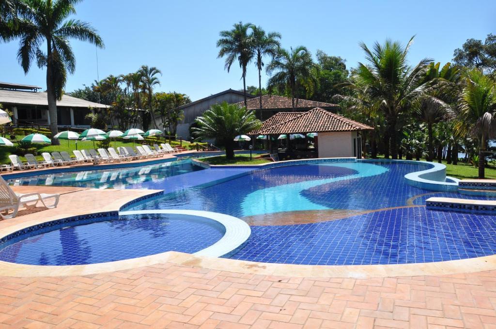 A piscina localizada em Hotel Berro D´Agua ou nos arredores