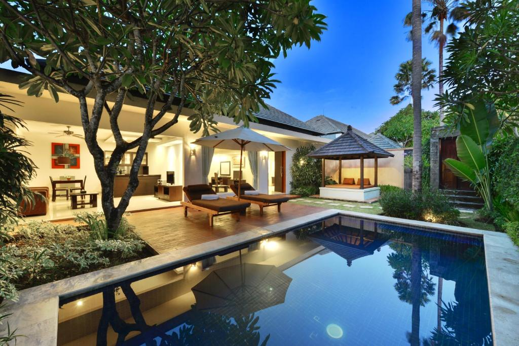 The swimming pool at or near The Yubi Boutique Villas Seminyak