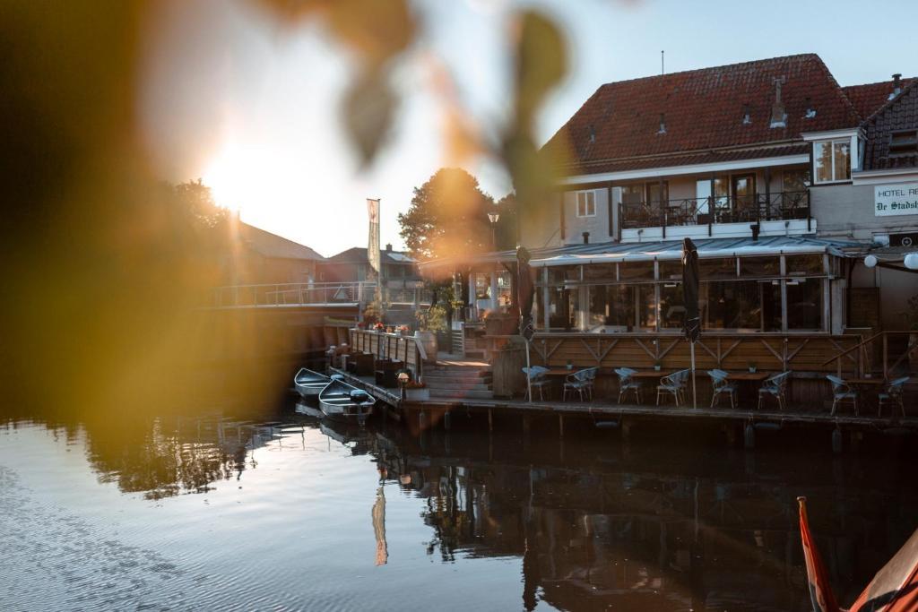 Hotel Restaurant De Stadsherberg in de winter