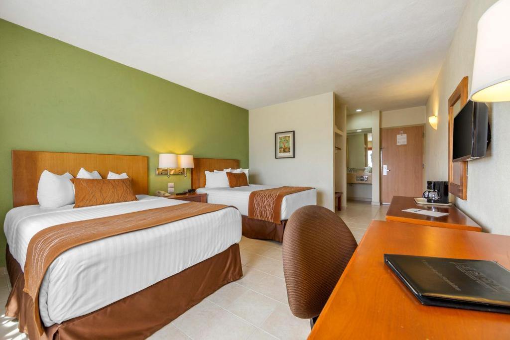 A room at the Comfort Inn Puerto Vallarta.