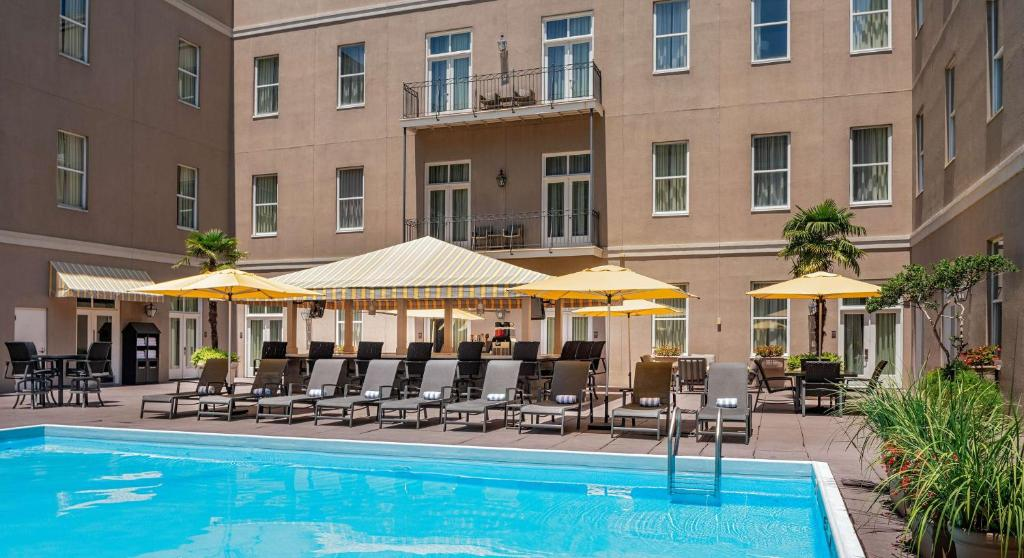 The swimming pool at or near Hyatt Centric French Quarter