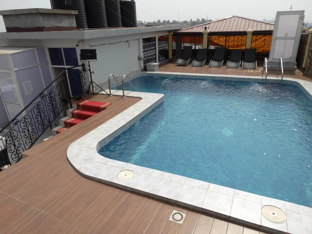 The swimming pool at or near Safyad Hotel
