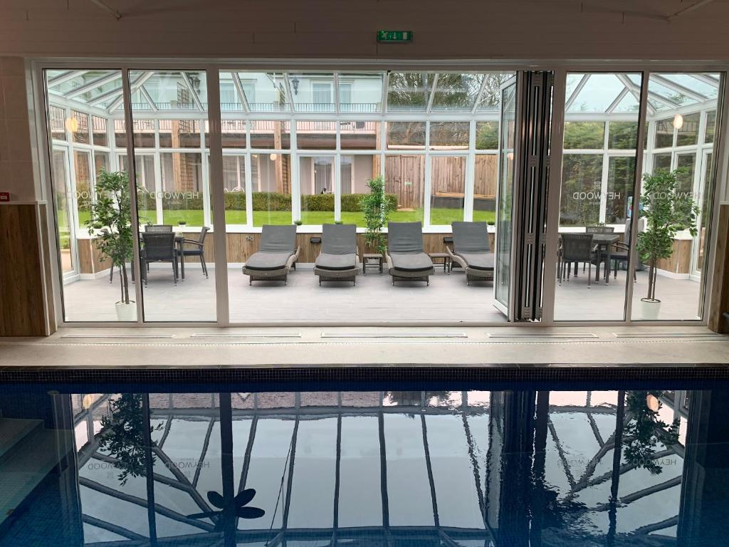 The swimming pool at or close to Heywood Spa Hotel