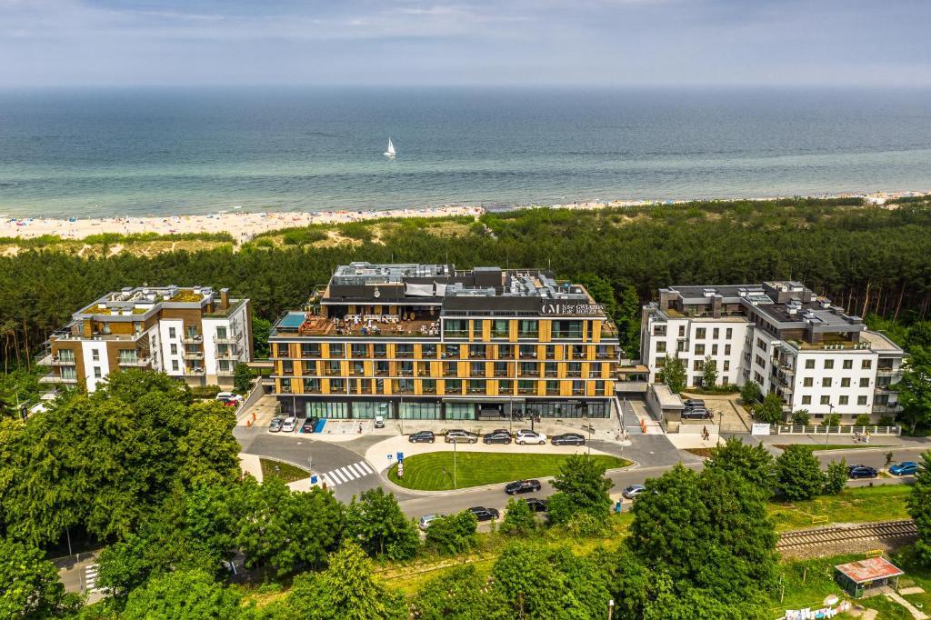 A bird's-eye view of Gwiazda Morza Resort SPA&SPORT