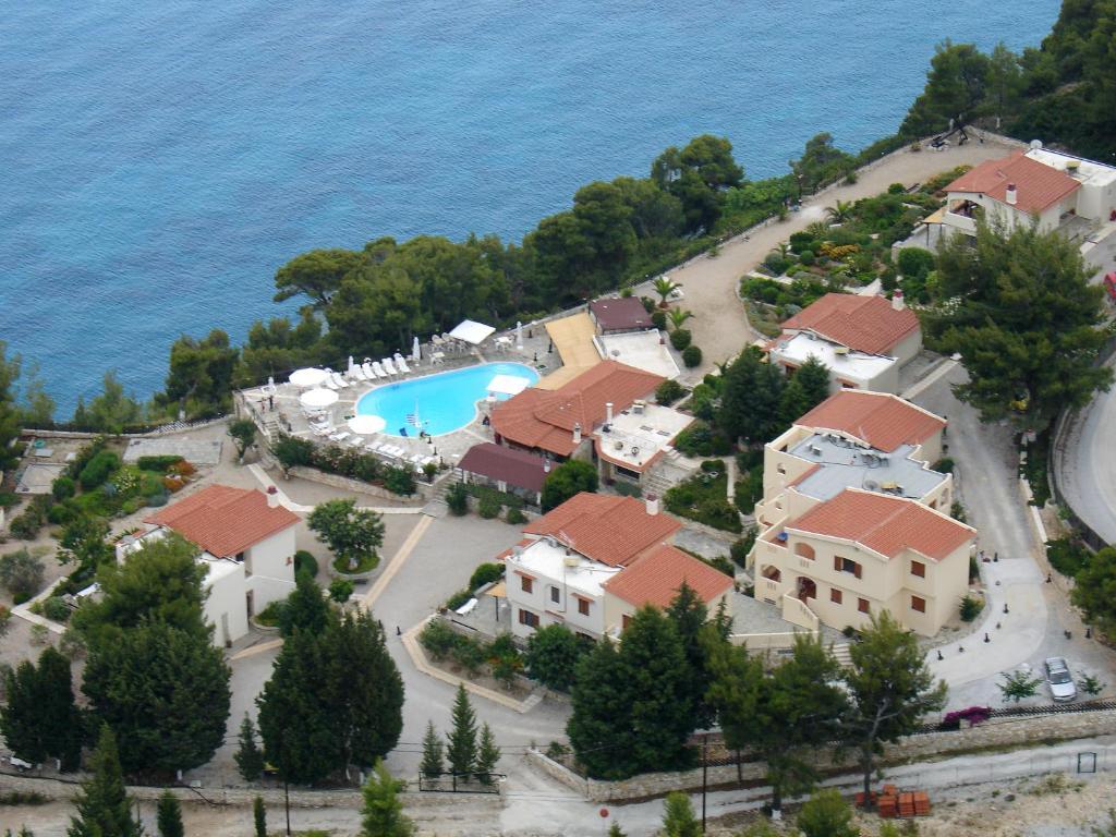 Άποψη από ψηλά του Milia Bay Hotel Apartments