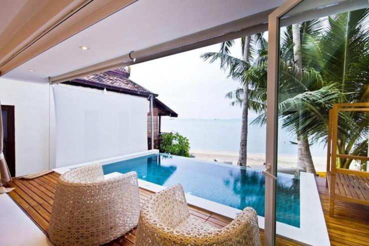 Swimmingpoolen hos eller tæt på Panu Luxury Apartment