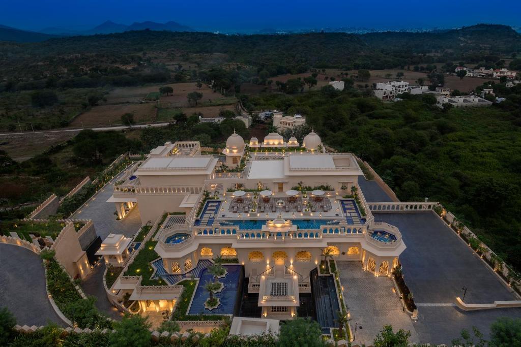 A bird's-eye view of Aurika, Udaipur - Luxury by Lemon Tree Hotels
