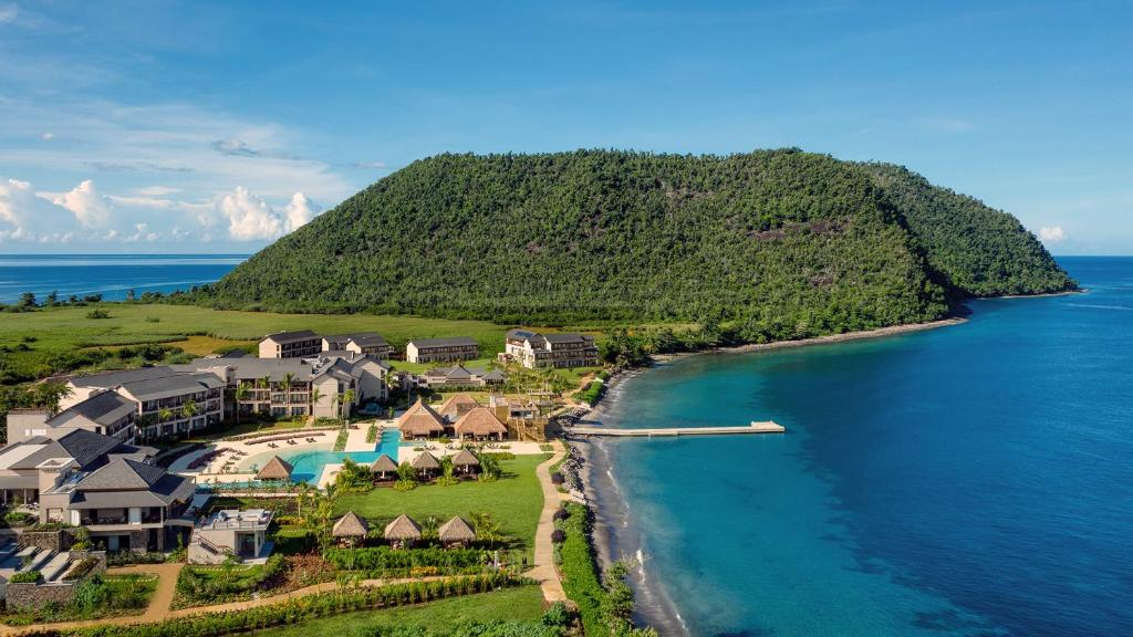 A bird's-eye view of Cabrits Resort & Spa Kempinski Dominica