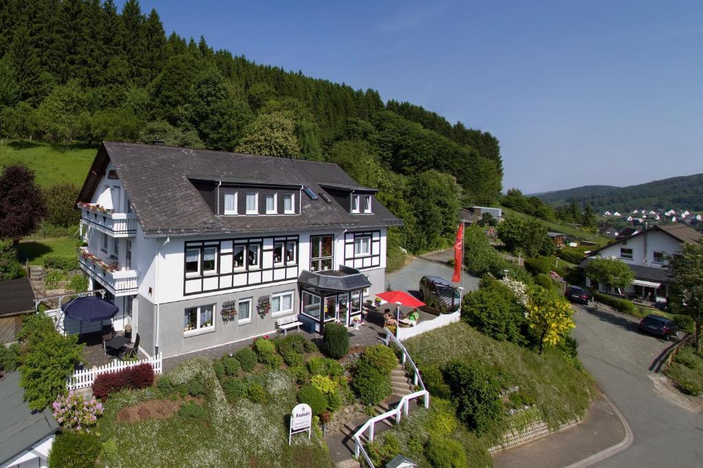 A bird's-eye view of Landhaus Pension Voß