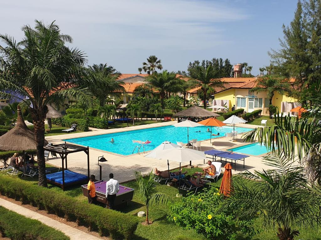 A view of the pool at Djeliba Resort or nearby