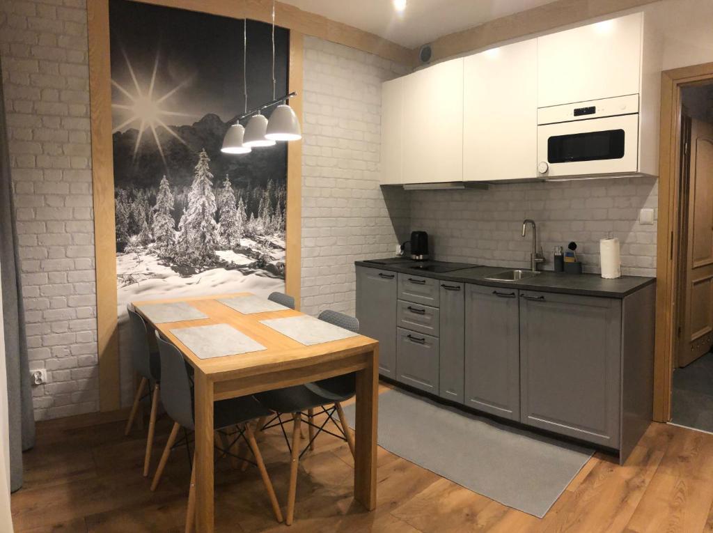Kuchnia lub aneks kuchenny w obiekcie Vektron