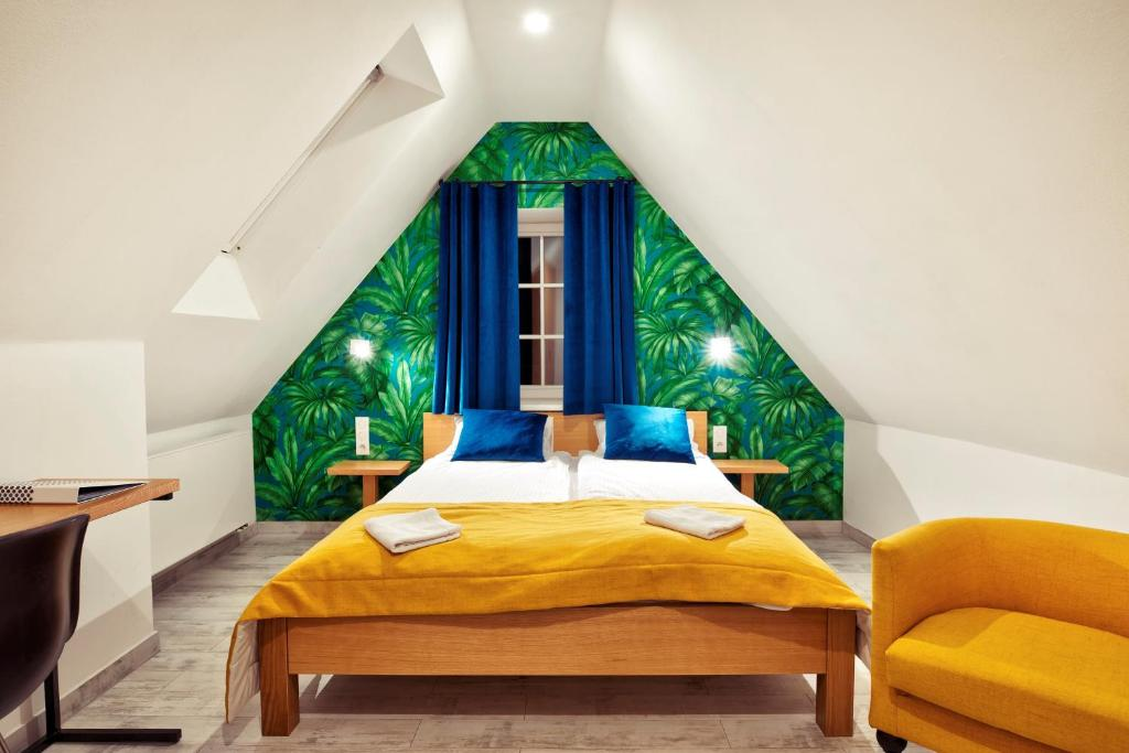A bed or beds in a room at TCZ Woźna