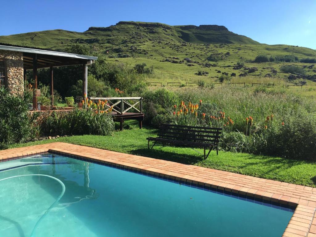 The swimming pool at or near SANI LODGE