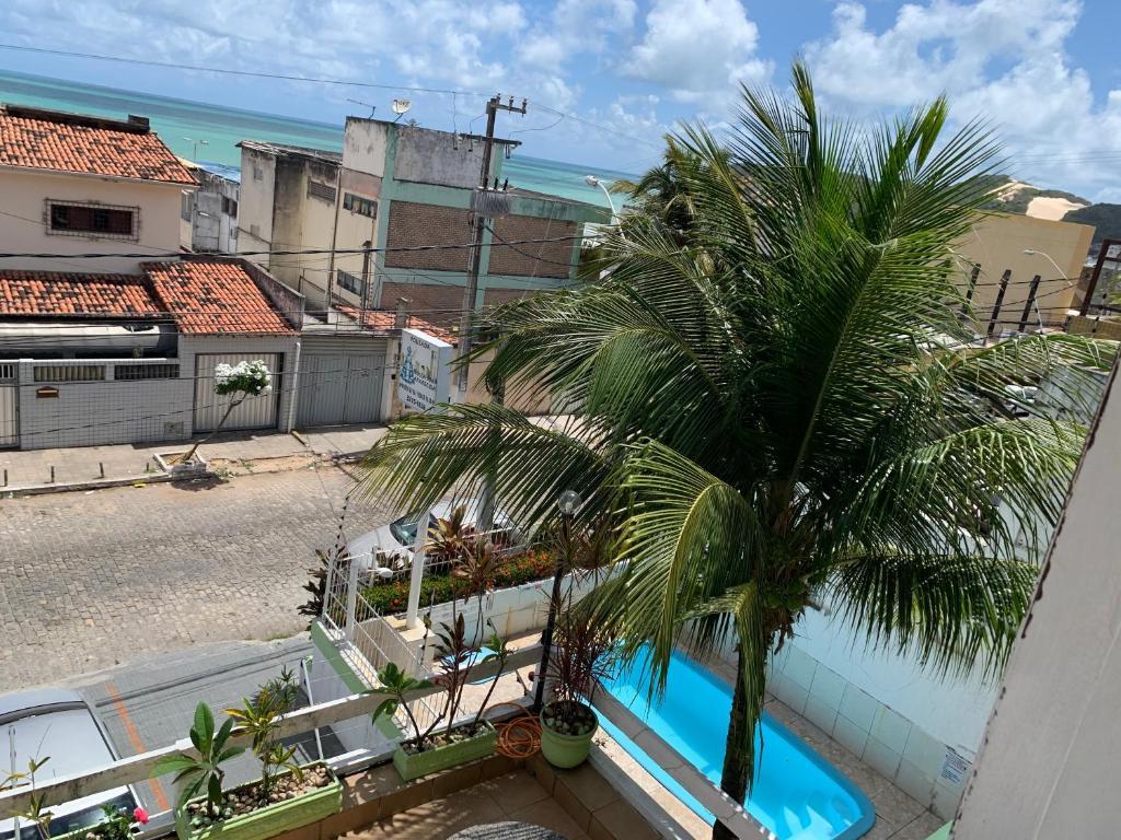 Uma vista da piscina em Pousada Nossa Senhora Aparecida ou nos arredores