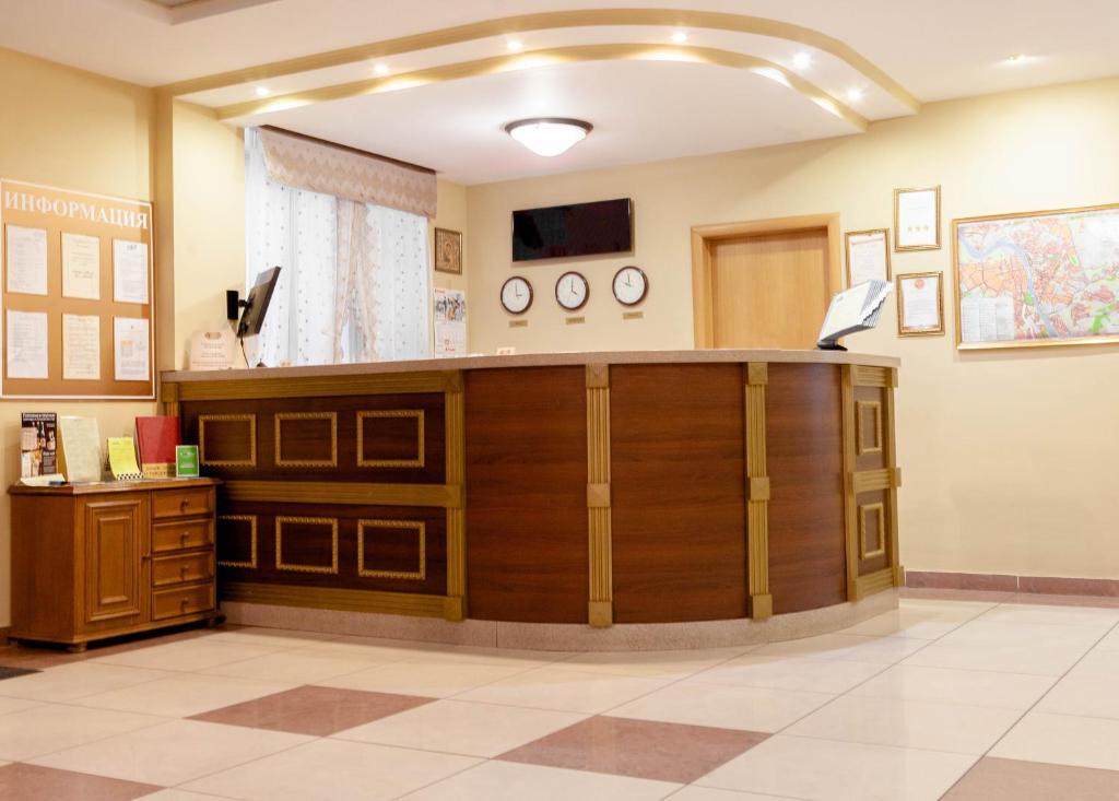 Лобби или стойка регистрации в Транзит Отель