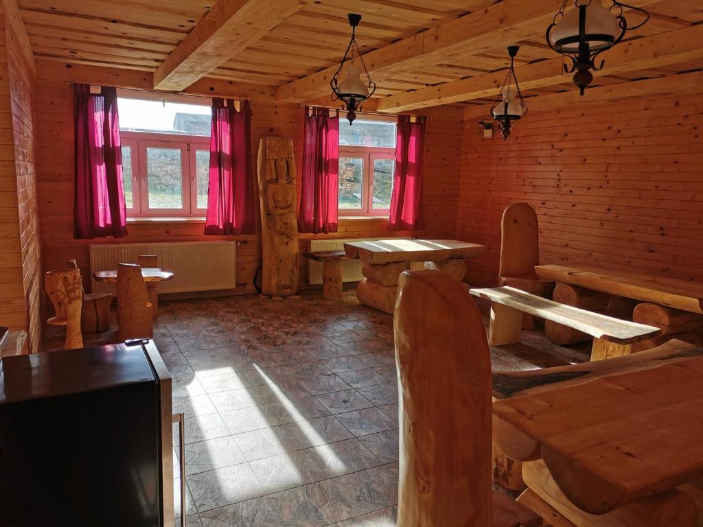 Restaurace v ubytování Penzion Loučka Bystřice