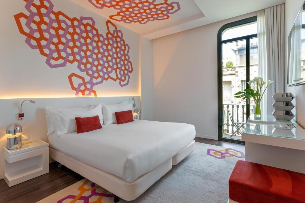 Cama o camas de una habitación en Room Mate Carla