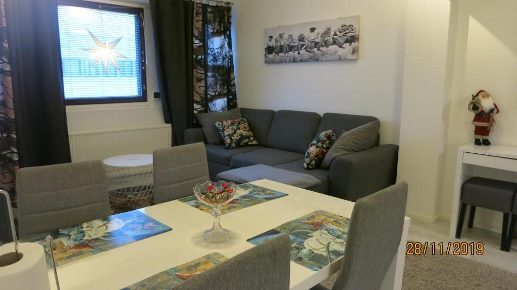 Oleskelutila majoituspaikassa CityNest Rovaniemi
