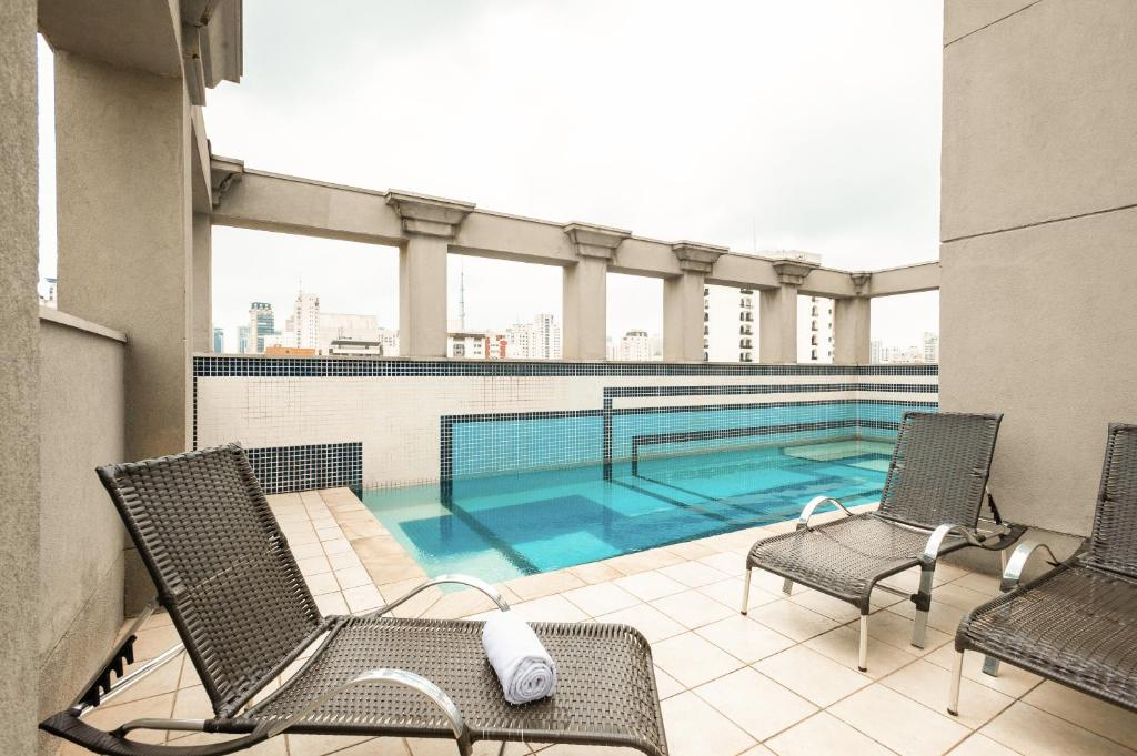 The swimming pool at or near Novotel SP Jardins
